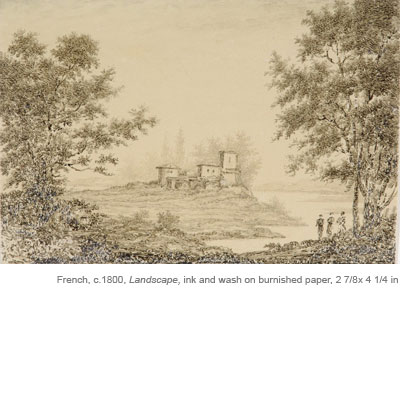 19th-20th Century French Landscape Drawings